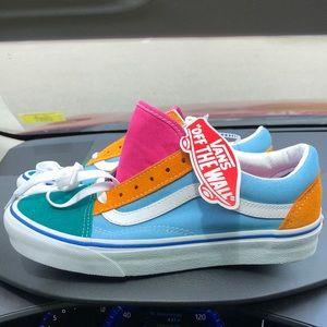 NWT Vans Old Skool color block skate shoes